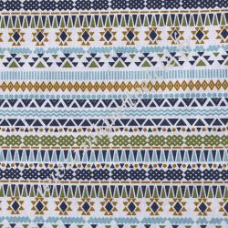 Tissu Coton imprimé Pérou, Migrette et Cie
