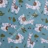Tissu Coton imprimé Lama, Migrette et Cie