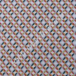 Coton imprimé Zeleo, Migrette et Cie