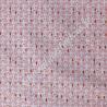 Coton imprimé Bejart corail, Migrette et Cie