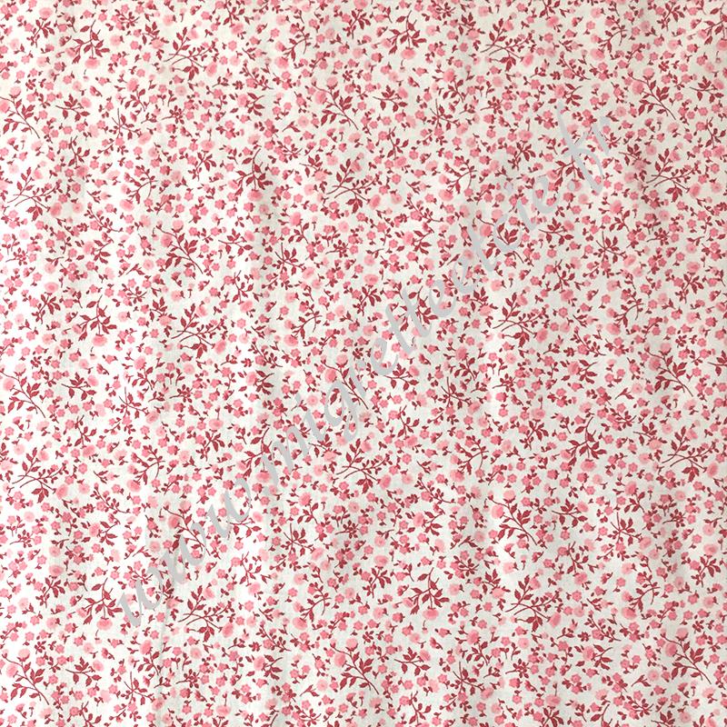 Coton imprimé Elenie Rose, Migrette et Cie