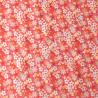 Coton imprimé Zinia rose, Migrette et Cie