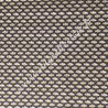 Coton enduit imprimé Sriko Nuit Ocre, Migrette et Cie