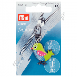 Tirette Fashion Zipper Oiseau, Prym, Migrette et Cie, Prym 482191