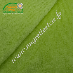 Eponge de bambou vert, certifié Oeko-tex, Migrette et Cie