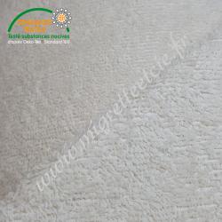 Eponge de coton écru, certifié 100% Oeko-tex, Migrette et Cie