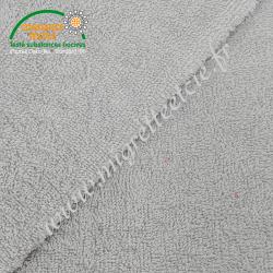 Eponge de coton Oeko-tex grise -