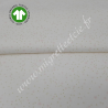 Tissu coton bio imprimé étoilé rose, GOTS, Migrette & Cie