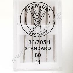 Aiguilles standards n°11pour machine à coudre, Migrette et Cie