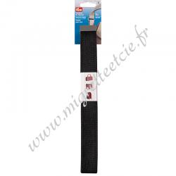 Sangle pour sacs 30 mm noir, 3 mètres, Prym, Migrette et Cie, Prym 965180
