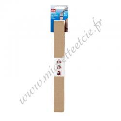 Sangle pour sacs 30 mm beige, 3 mètres, Prym, Migrette et Cie, Prym 965185