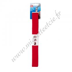 Sangle pour sacs 30 mm rouge, 3 mètres, Prym, Migrette et Cie, Prym 965186