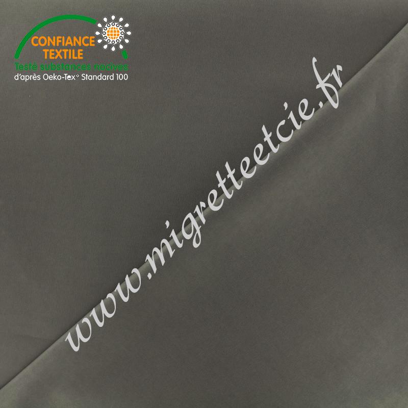 Tissu PUL gris -