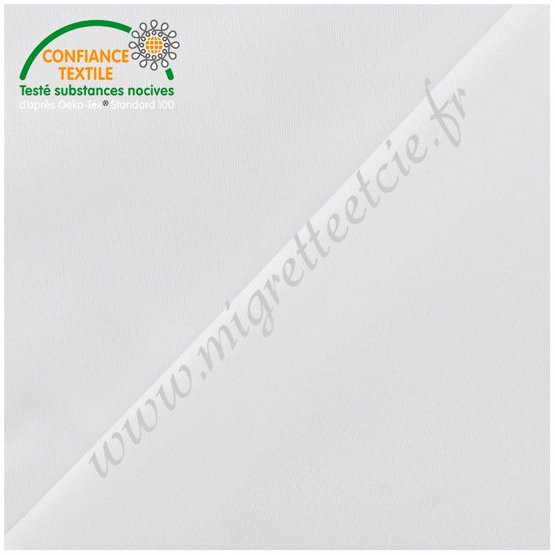 Tissu PUL blanc, Migrette et Cie