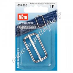 Boucle coulissante 30mm argent, Prym, Migrette et Cie, Prym 615805