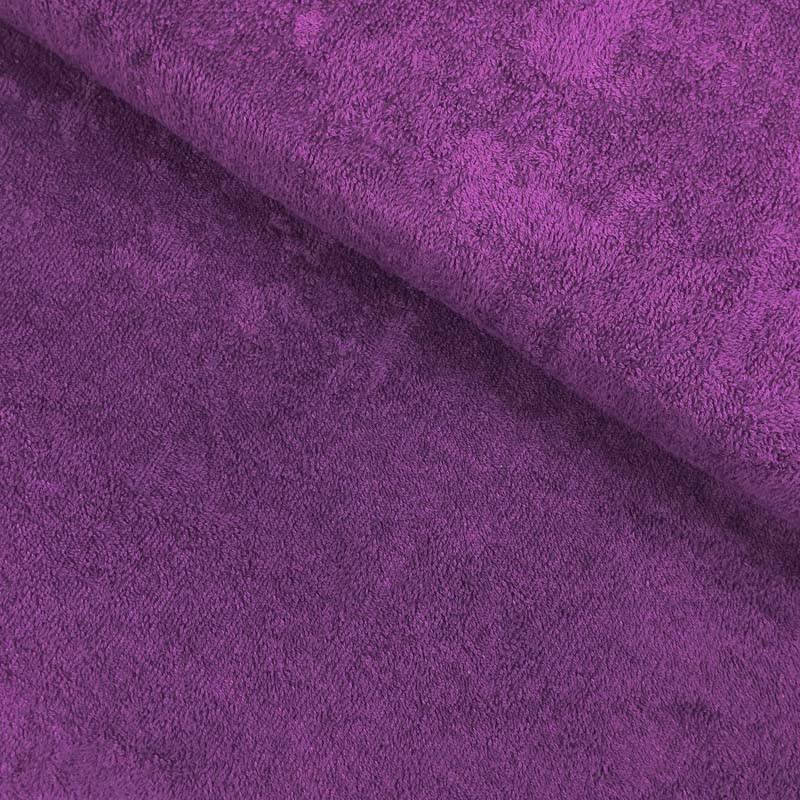 Eponge de bambou violet, certifié Oeko-tex, Migrette et Cie