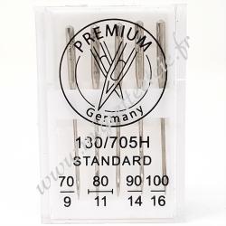 Aiguilles standards 70-100 pour machine à coudre, Migrette et Cie