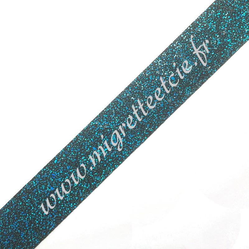 Galon Turquoise, 30 mm, Migrette et Cie