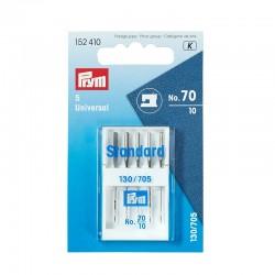 Prym Aiguilles pour machines à coudre 130/705 « Standard », 70, PRYM 152410, Migrette et Cie