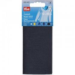 Pièce thermocollante, 12 x 45cm, bleu marine, PRYM 929402, Migrette et Cie