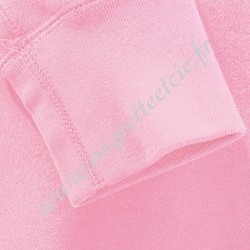 Tissu Bord-Côtes Rose, Migrette et Cie