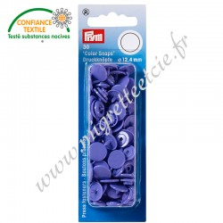 Boutons pression sans couture « Color Snaps », rond, 12.4mm, lilas, PRYM, 393128, Migrette et Cie
