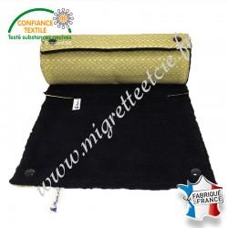 Essuie-tout lavable, coton imprimé Lixneg, micro-éponge de bambou noire, Migrette et Cie