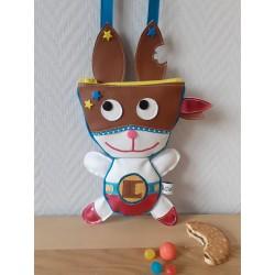 Super Goulu, sac bandoulière super lapin, patron téléchargeable  - Sacaptiloup