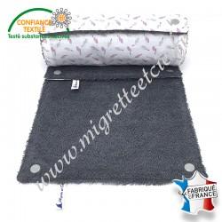 Essuie-tout lavable, coton imprimé Zéoli, éponge de coton, Migrette et Cie