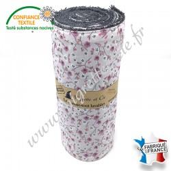 Essuie-tout lavable, coton imprimé Izella, éponge de coton, Migrette et Cie