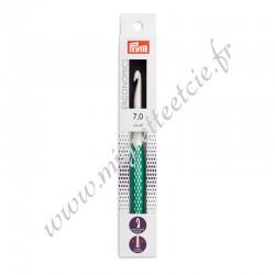 Crochet pour laine prym.ergonomics, 17cm, 7mm, Prym 218489, Migrette et Cie
