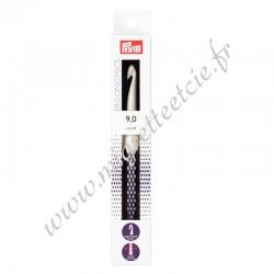 Crochet pour laine prym.ergonomics, 18cm, 9mm, Prym 218491, Migrette et Cie