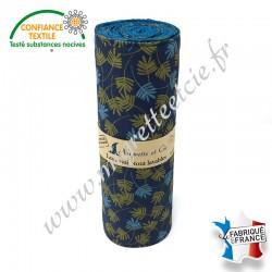 Essuie-tout lavable, coton imprimé Goa, nid d'abeille paon, Migrette et Cie