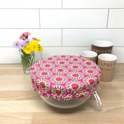Charlotte couvre plat en coton enduit Malawa OekoTex - Zéro déchet, Migrette et Cie