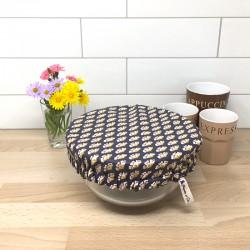 Charlotte couvre plat en coton enduit Sriko OekoTex - Zéro déchet, Migrette et Cie