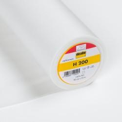 Entoilage thermocollant Vlieseline H200 blanc