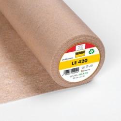 Entoilage thermocollant cuir Vlieseline LE420