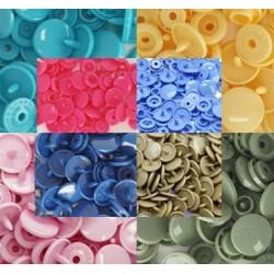 Boutons Pression Coloris au choix -