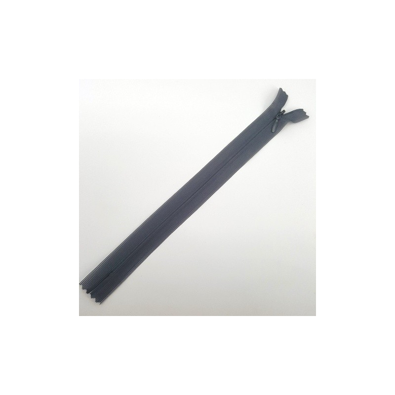 Fermeture à glissière invisible 22 cm Anthracite