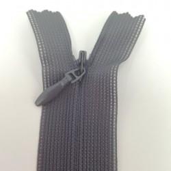 Fermeture à glissière invisible 60 cm anthracite