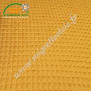 tissus coton nid d'abeille